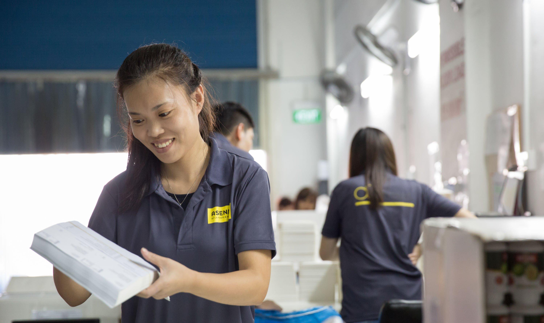 Asendia Singapore sorting