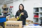 Asendia hong kong parce Asendia logo